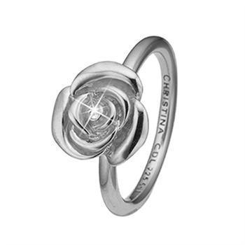 Christina Collect Topas Ring i sterlingsilver med vit topas, modell 2.19.A