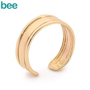 9 ct Fashionable gold Toe ring