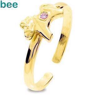 Bee Jewelry Ring, model 25294-CZP-K