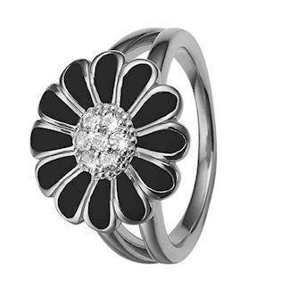 Christina Collect marguerit silverring med topas