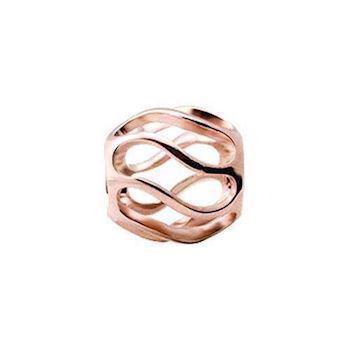 Christina Collect Twist rose ring