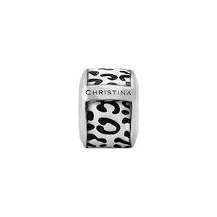 Christina Collect Leopard silver ring