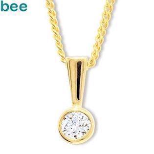 Bee Jewelry Solitaire 0,15 ct H-SI Pendant, model 60560_A15