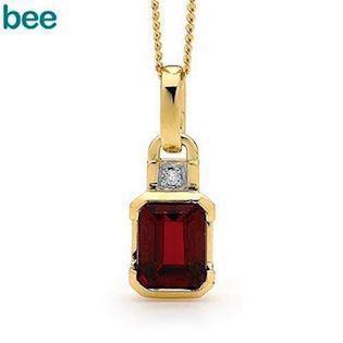 Bee Jewelry Pendant, model 64659-CR
