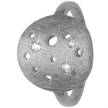 Christina Collect The Moon silverring med vit topas, modell 3.22.A