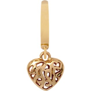 Christina Collect Hearts In Hearts gold pendant