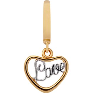 Christina Collect Love gold pendant