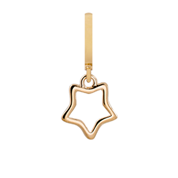 Christina Collect Lodestar gold pendant