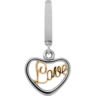 Christina Collect Love silver pendant