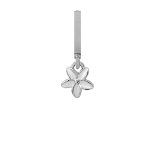 Christian Collect Enamel Flower Heaven silver pendant