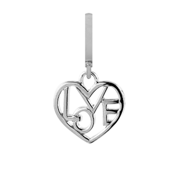 Christina Collect Loveable silver pendant