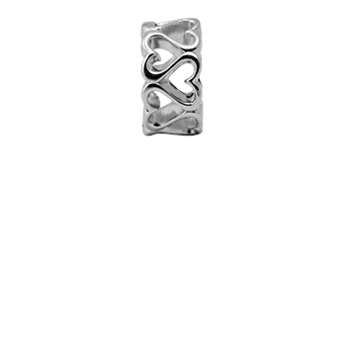 Christina Collect Multiple Hearts silver ring