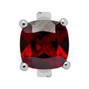 Christina Collect Garnet silver ring