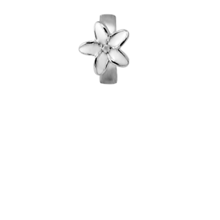 Christina Collect Enamel Flower silver pendant