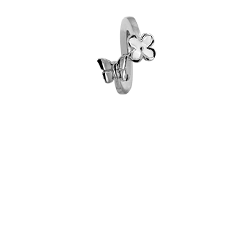 Christina Collect Foursome Butterfly silver ring