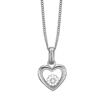 Christina Collect Marguerite Love silverhalsband med topas