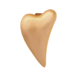 Christina Collect Brushed Heart gold ring
