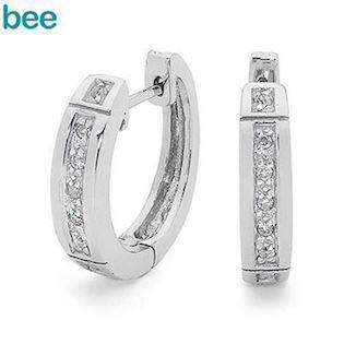 Bee Jewelry Earring, model 35509/cz