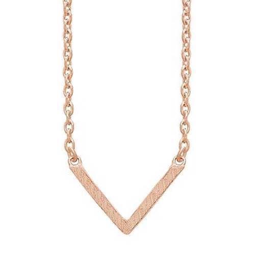 frk Lisberg Necklace, model Vibeplain3171-rosa