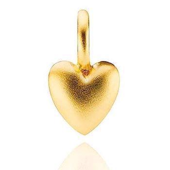 Superstar gold plated pendant from Izabelle Camille