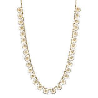 Lund Daisy Necklace, model 902011-30-M