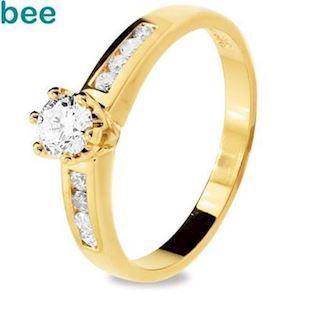 Diamond Engagement Ring - 0.46 Carat