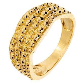 9 ct goldring Inspired by Nature