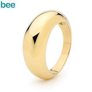 Stunning Gold Dome 9 carat Ring
