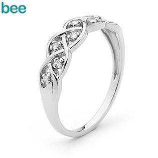 Dreamweaver Ring - 9 kt - white Gold and Diamond