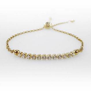 San - Link of joy Bracelet, model Tennis-07-hvid